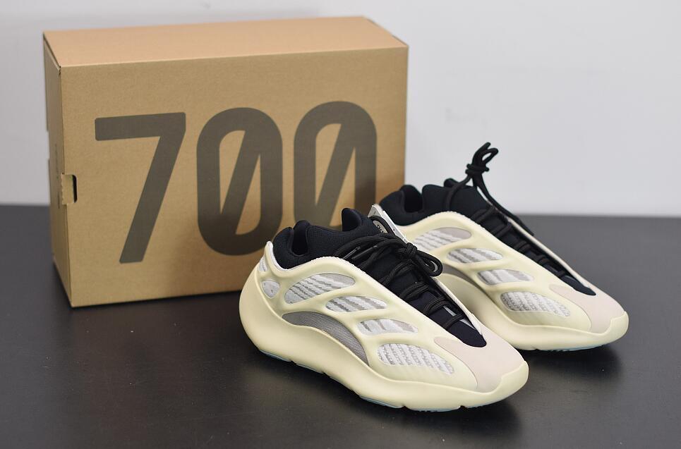 En Kanye 700 V3 Ayakkabı Azael Alvah 700 V3 Erkek Koşu Ayakkabıları Tasarımcı Kanye West Glow Koyu Tasarımcı Erkek Kadın Sneakers ile Kutusu