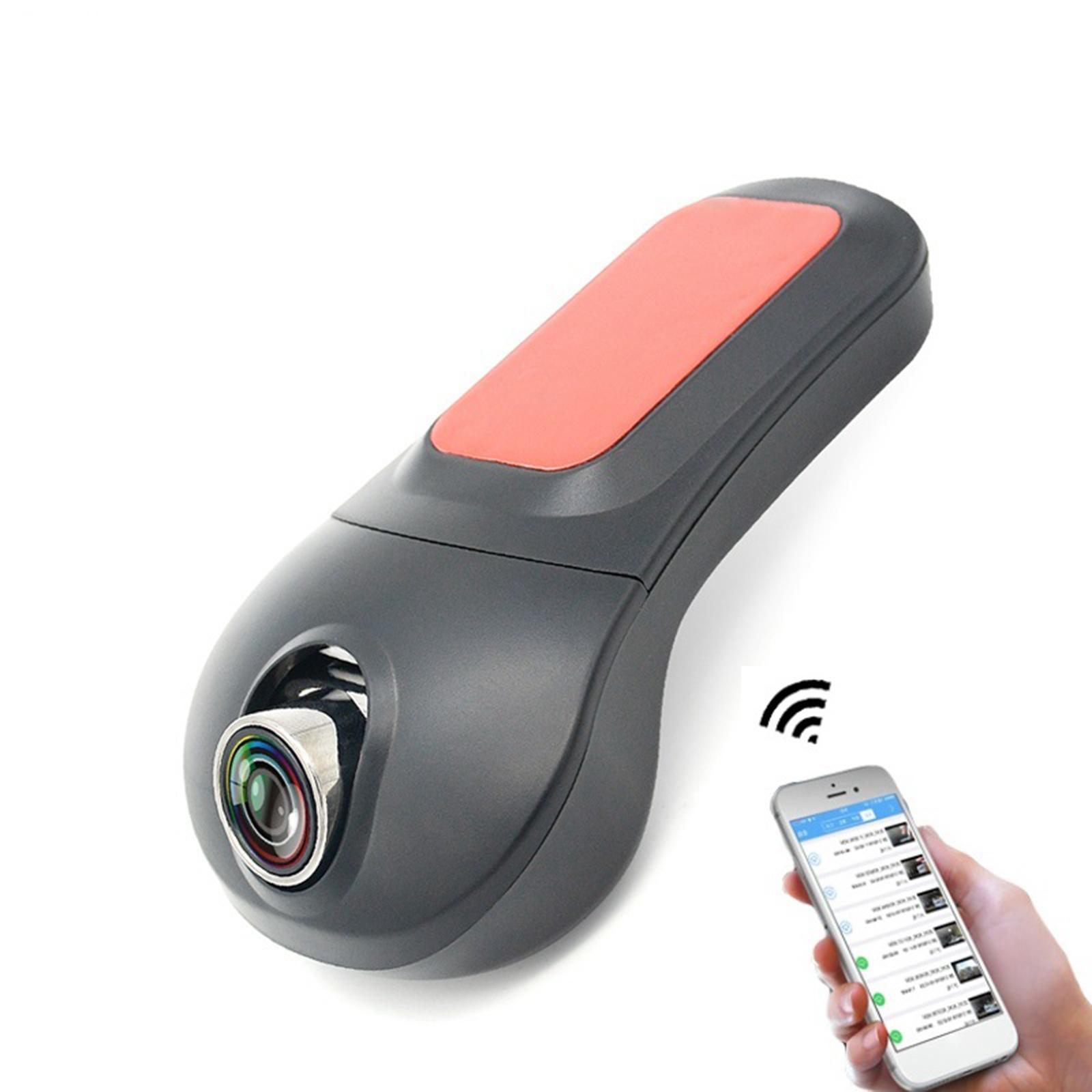 Dash Caméra pour voitures Enregistreur avec carte SD Full HD 1080P DVR Dashboard Caméra 160 ° Large angle HDR Low léger Vision nocturne Parking G-Capteur