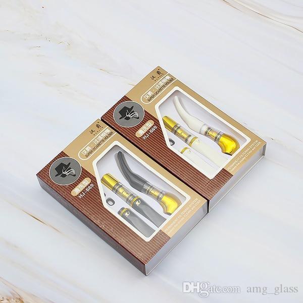 Tabakpfeife Kunststoffleitungen 2 Farbe 38g Beliebte Reinigungsfilter Zigarettenhalter 2 Packung Kleine Rohrform Zigarettenhalter Home Praktisch