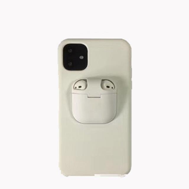 Caja de teléfono de diseño de lujo para iPhone 11 Pro Max Funda XS MAX XR X 10 11 CUBIERTAS PARA EL TITULAR DE AIRPODS HARD para Airpod Coque iPhone 11