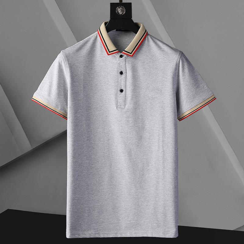 Designer Designer POLO T Shirt Summer Maniche corte Doppia Giù Colletto a maniche corte Top Polo Shirt