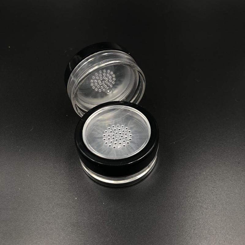 300 stücke 10g Tragbares loses Pulvergefäß mit rotierender Sift-Twist-Up Container-Dosen für kosmetische Make-up