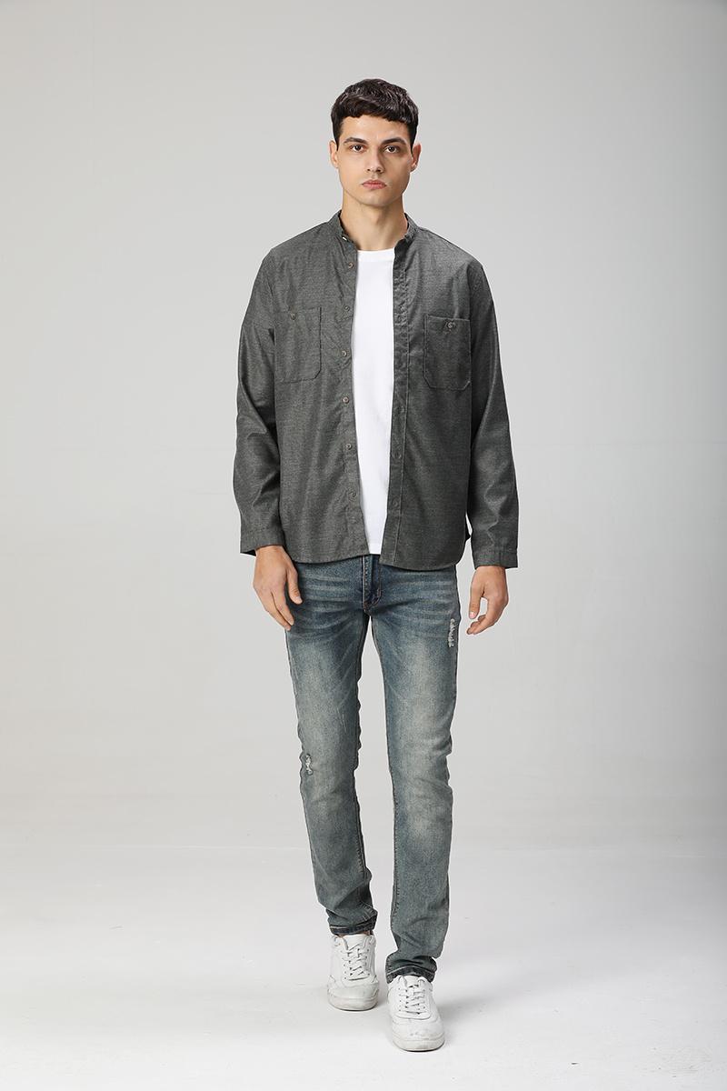 2021 camicia casual da uomo di alta qualità manica lunga slim fit tendenza camicia da uomo alla moda nuova camicia moda s-xl