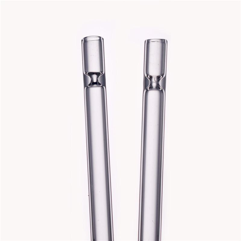 Portable 4inch 12mm OD Glass One Hitter Pipe One Hitter Bat Dugout Pipe Dugout Bat Smoking Tobacco Pipe wholesale