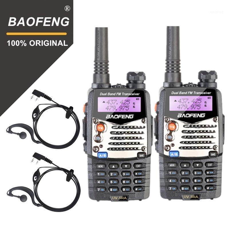 2 unids BAOFENG UV5RA WALKIE TALKIE UV-5RA Versión actualizada UHF VHF DUAL BANDA CB Radio VOX FM TRANSCEIVE PARA COCINAR RADIO 1