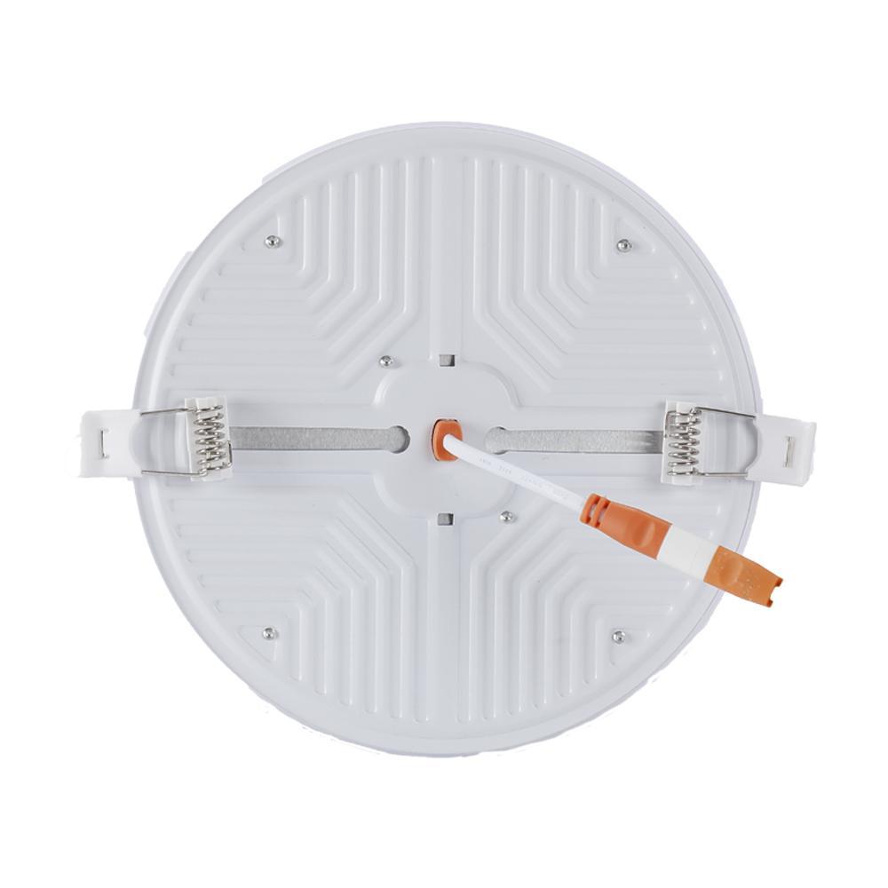 Astnait Hot Brilho Alto 15W6500K Alumínio Ultra Fino Rodada Quadrado Ajustável Sala de Vidação Cozinha LED Painel Luz