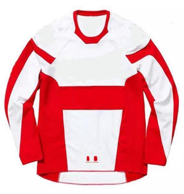Куртка для езды на горных велосипедах, быстрая капитуляция, длинный полиэстер быстро сушильный велосипед, бездорожный гоночный костюм, тот же стиль настроить