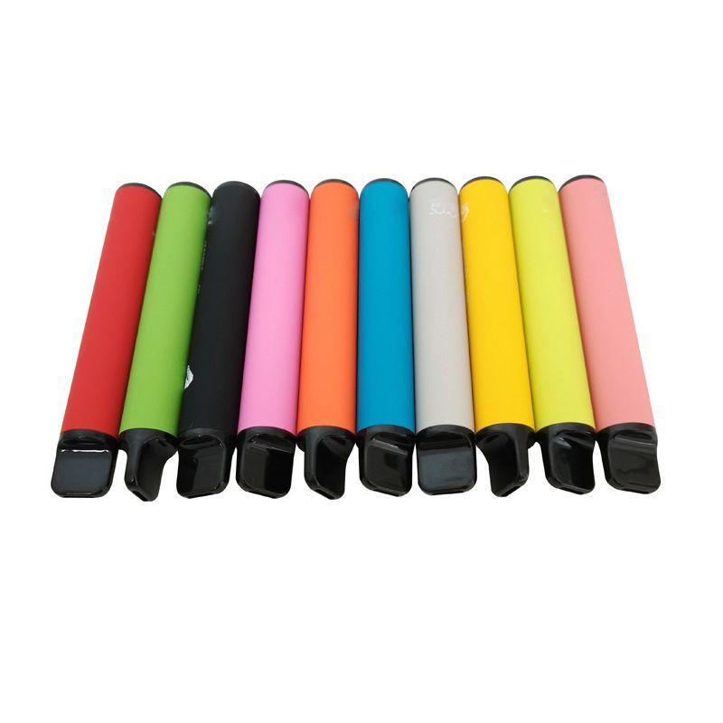 Одноразовые коробки Vape настраивают настроить 550 Puff Label Vapaper Pen 800 Plus Puffs MAH VAPER BAR Частный поставщик Bejnw