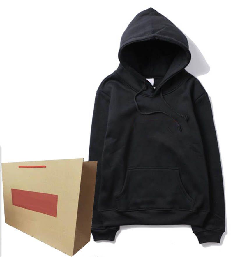 Mens Hoodie com Letras listradas vermelhas Bordado Hoodies Terry Qualidade Suéter Moda Estilo Unisex Hoodie Tops Clássicos