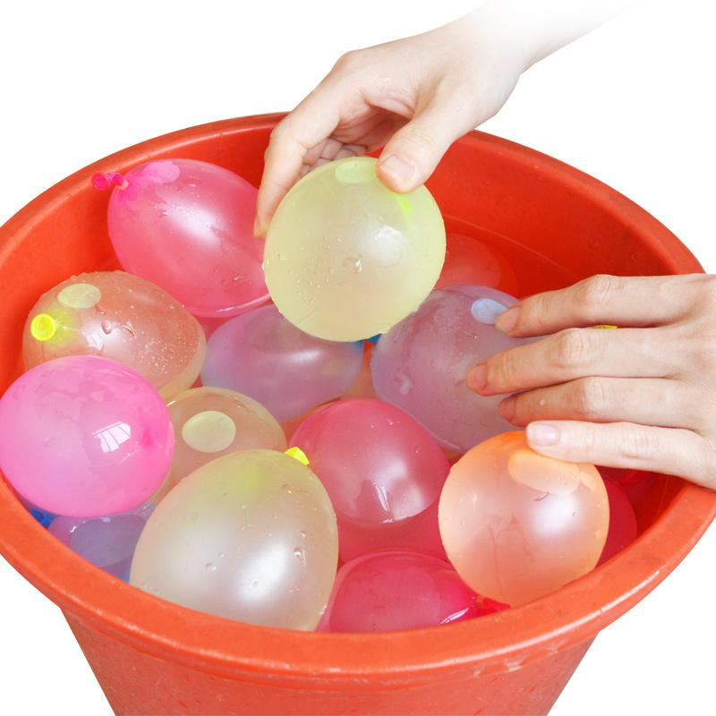 Summer Water Balloons Water Bombs Magic Water-filled Balloon Summer Children Garden Outdoors Play In The Water Toys DHL Free Shipping