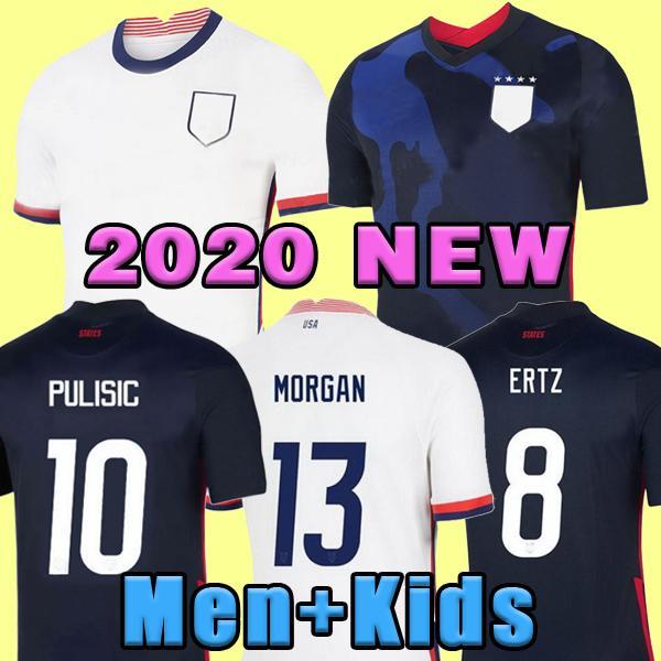 كأس العالم 2020 Soccer Soccer Jersey Ertz Bradley Pugh Lloyd Allidore 2021 Wood America Football Jerseys الولايات المتحدة الأمريكية قميص Camisetas