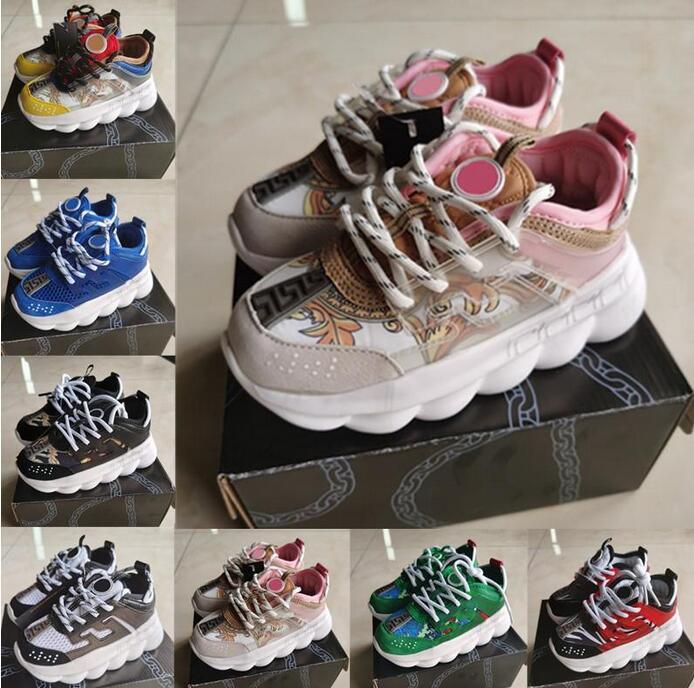 2021 Yeni Varış Rahat Ayakkabılar Çocuklar Için Siyah Beyaz Pembe Erkek Kız Çocuk Toddler Sneakers Spor Çocuklar Elbise Okul Kanvas Ayakkabılar