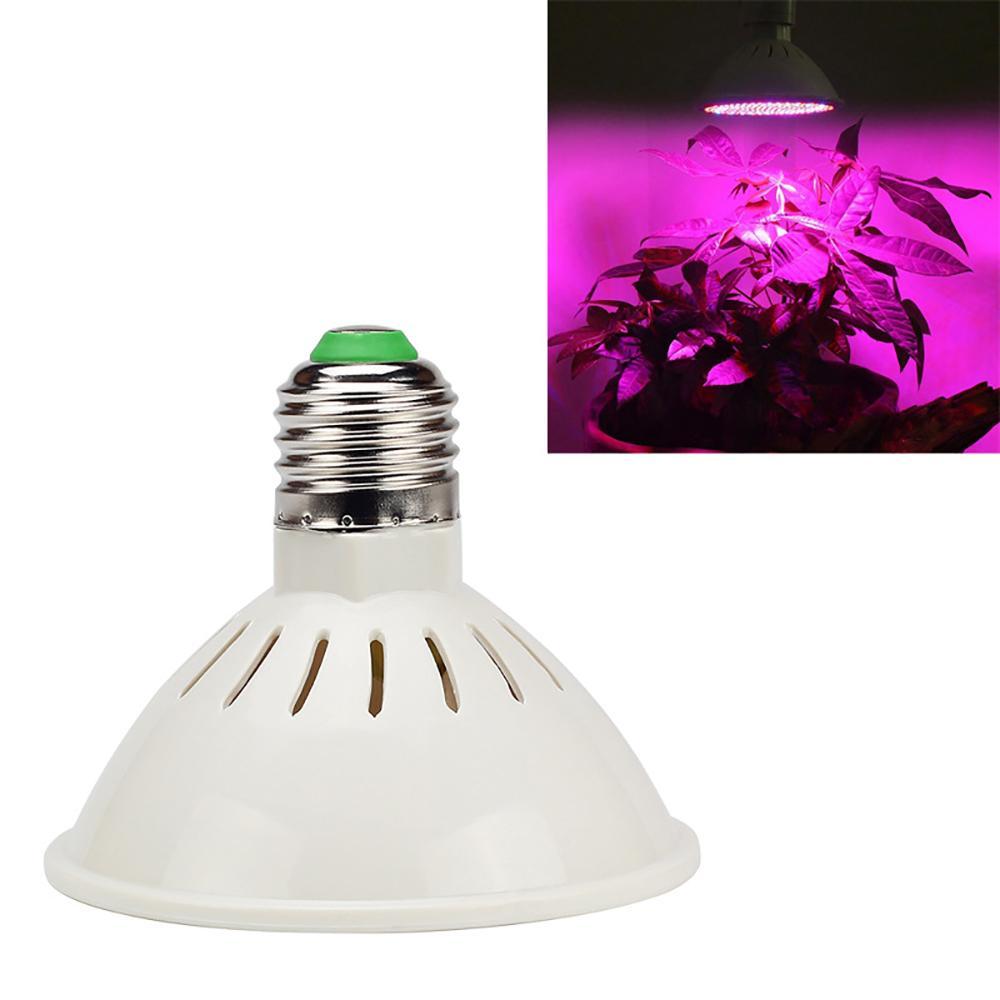 LED Cultiver la lumière 60/126/200/260 LED SMD 2835 Pot de légumes de légumes de légumes de légumes à haute luminosité Planté Polyphae Plante Lampe de croissance de la plante 85-265V