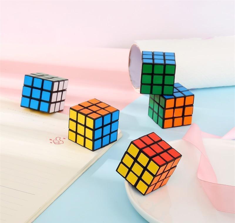 Puzzle Cube маленький размер 3 см мини волшебный кубик Игра Обучающие игра Волшебный куб Хорошая подарок Игрушка WMTUOG Infant2005