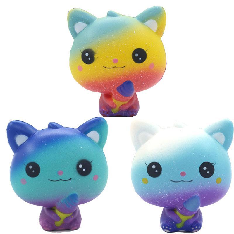 Kawaii Panda игрушечный яйцо медленный рост симуляции единорог акула кошка животное сжимание антисрезы, бесперебойное сжимать Xmas подарочные игрушки