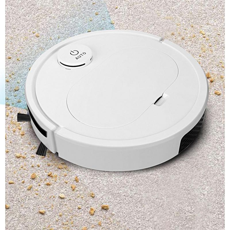 Aspiradores de Robô 3 em 1 Robô de Limpeza Automática Recarregável Robô Smart Sweep e Molados Mopping Sweeper Dirt Dust Dust Leaker