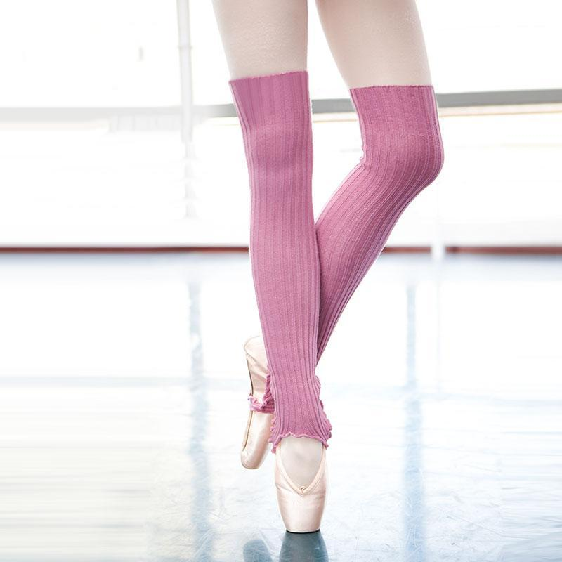 Dance Legwarmer Long Stirrup Ballet Legwarmer Knee Length Leg Warmer for Dancing Women Knitwear Winter Warm up Ballerina Clothes