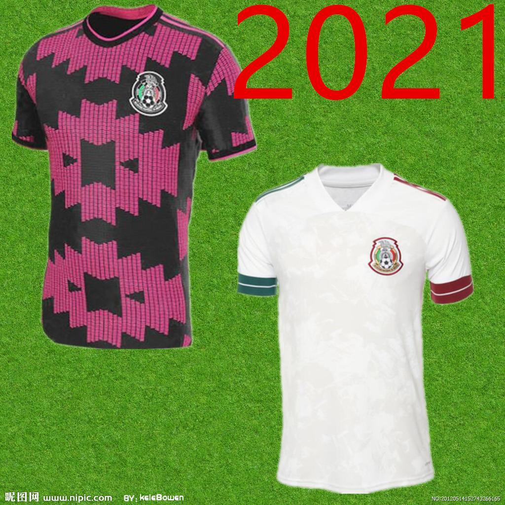 Homens 20/21 México Jersey Soccer 2020 Home Vermelho # 14 Chicharito # 22 H.Lozano Camiseta C.vela A.Guardado Futebol Uniforme