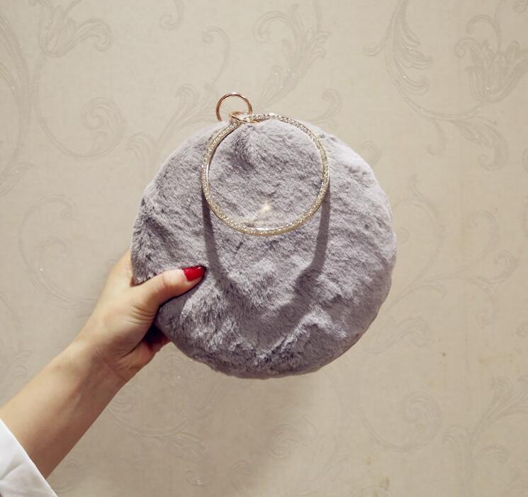 Borsa da sera delle donne brillanti della borsa delle donne di modo della borsa delle donne con la catena di lusso degli scintillio del partito delle signore delle signore della signore B3