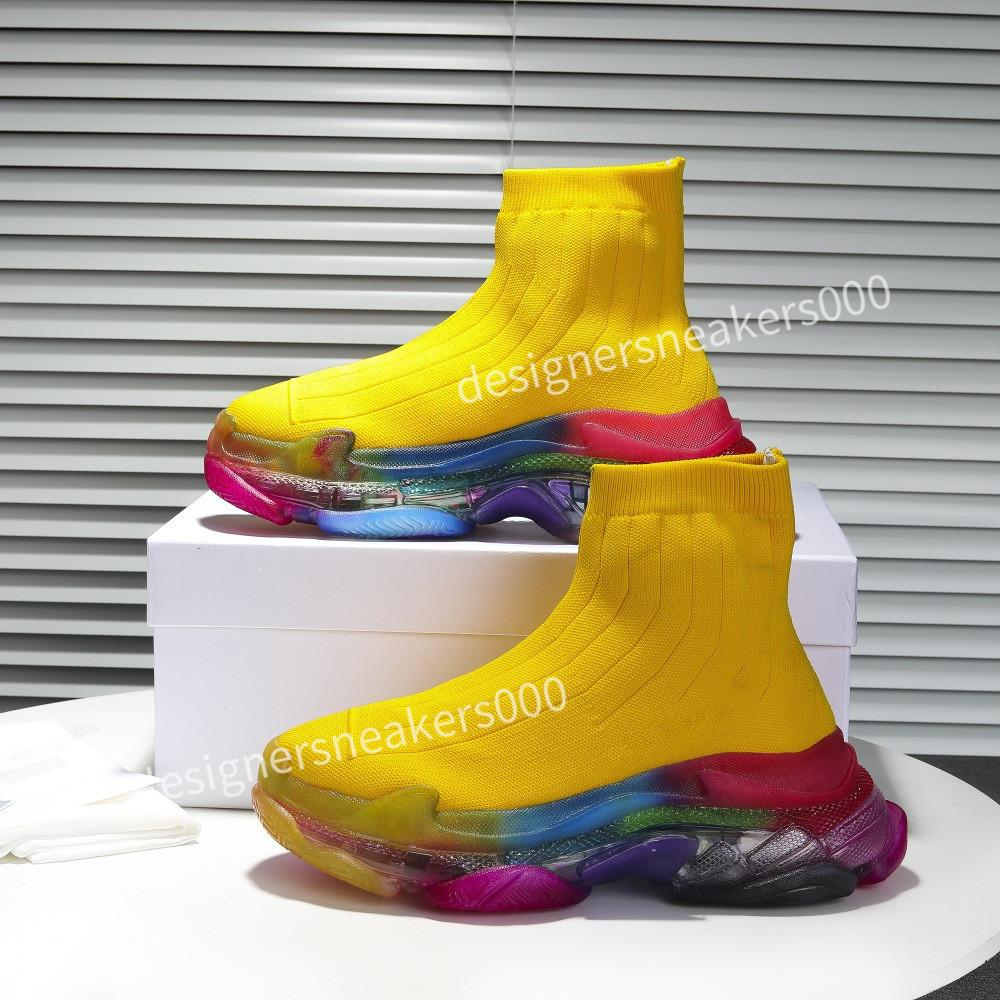 Balenciaga Yeni Kadın Paris Rahat Ayakkabılar Eğitmenler Baba Ayakkabı Sneaker Siyah Boy Mens Bayan Beyaz En İyi Kalite Koşucu Chaussures MMXC190726