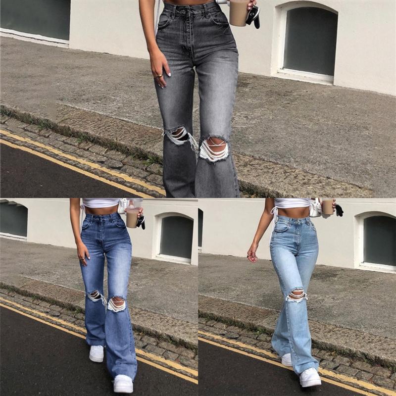 QCJ Luxe Coréen Vintage Lady Jeans Baggy Denim Femmes Pantalons Harem Pantalon Jogger Patchwork Floral Jeans Dames Casual