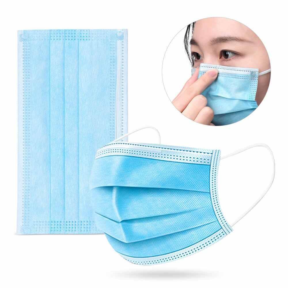 Venta 2 nivel UIBUX desechable 3 máscara caliente XFPL al por mayor 3ply productos cara PM2.5 Nivel Máscara Filtro de cara TTGSN