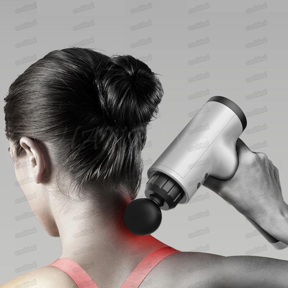 Hot Sale Fascial Gun Leg Deep Vibration Muscle Body Relaxation Electric Gun Fitness Equipment Massage Hammer Shock Pain Relief Massager