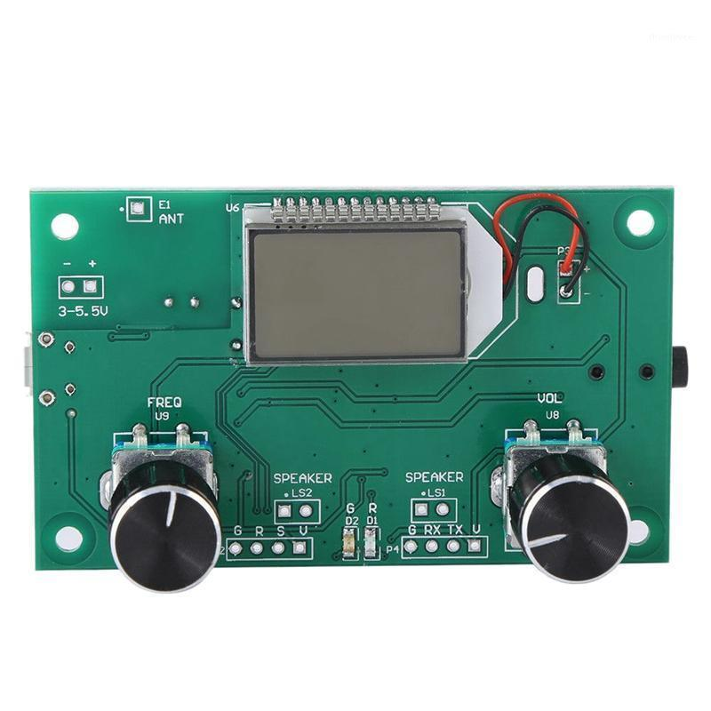 Module de récepteur Radio FM 87-108MHz Modulation de fréquence de fréquence stéréo de la carte de réception avec écran numérique LCD 3-5V DSP PLL1