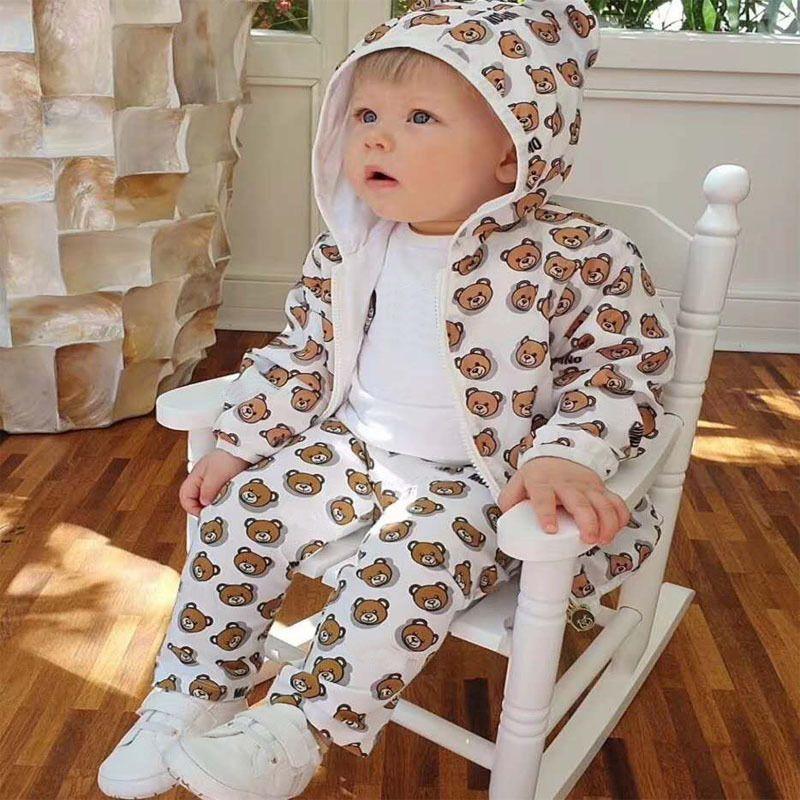 새로운 아기 곰 태양 증거 의류 윈드 재킷 빛과 통기성 가벼운 아기 소년 소녀 코트 어린이 태양 증거 의류 Y1113