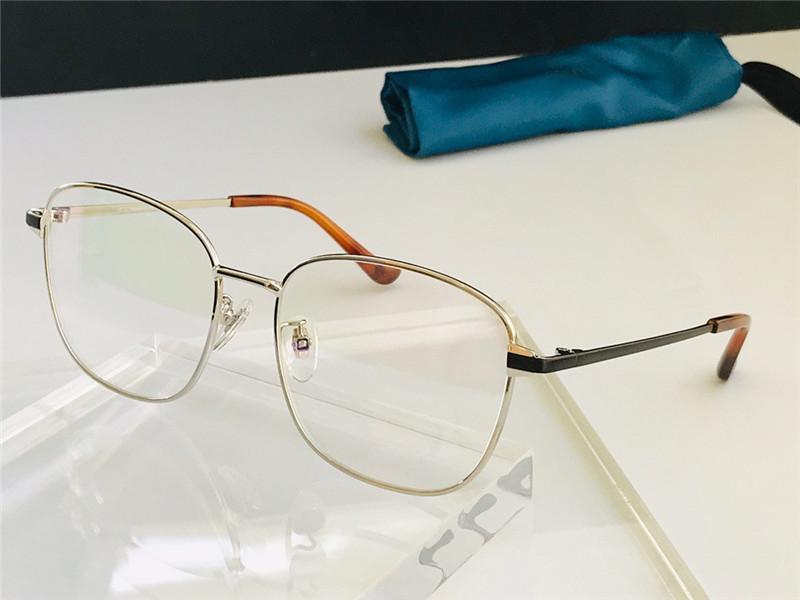 0576 nova venda quente moda óculos ópticos mudáveis forma usando metal quadrado quadro completo óculos tendência estilo minimalista glaqualidade com caso
