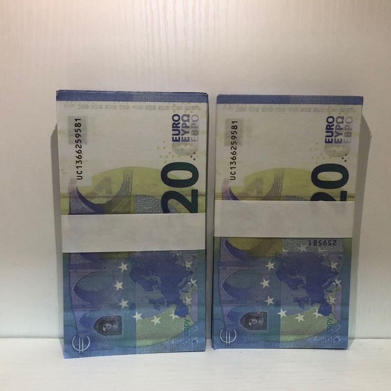 Atmósfera y 20 Faux Euro Bar Bar Barra falsificación Money LE20-11 Billet Realítico Realítico Precios Calientes Billet Moneda XEENP VTUNG