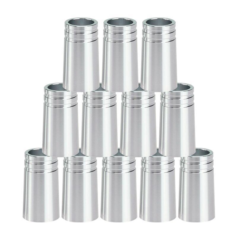 12pcs / pacote Ferres de golfe .370 Alumínio para Irons Shafts Acessórios de Golfe Acessórios