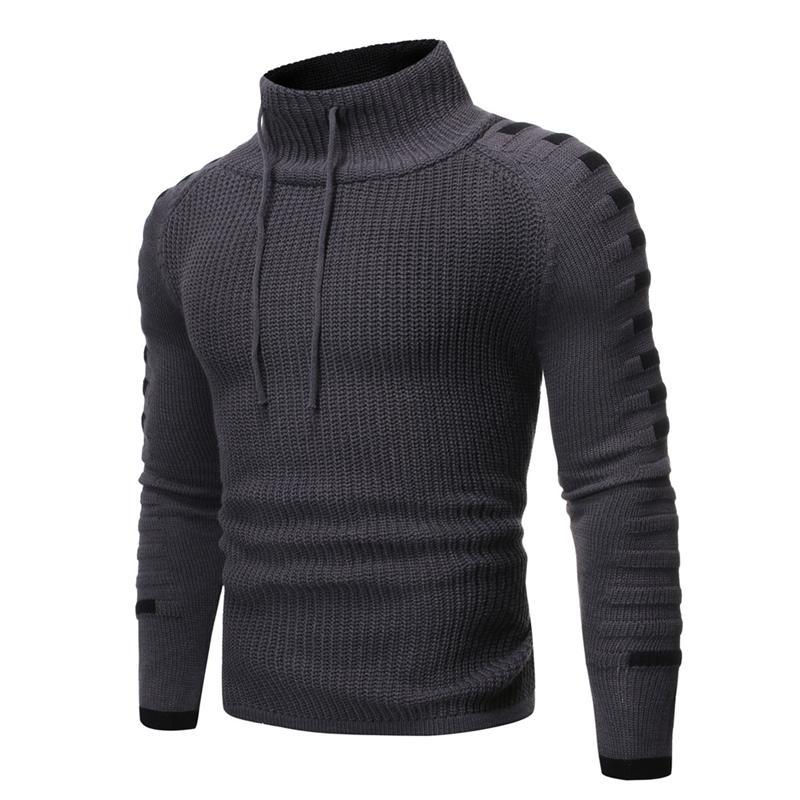 New Winter Mens Roupa Homens Camisola Pullover Homens Roupa Mans Suéteres Jumper Moda Casual Quente Malha Camisola Pullovers