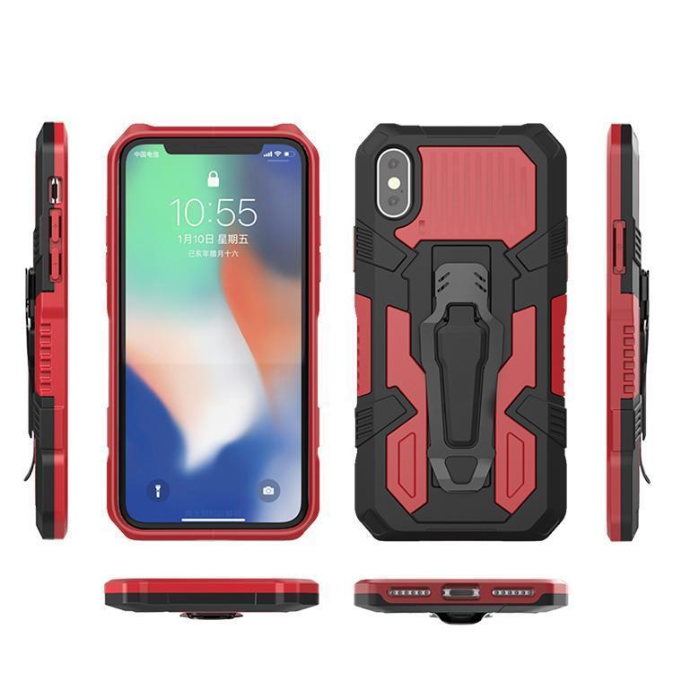 Многофункциональный Mecha Clip Case Sports Cale Phone Case Caspstand Case для LG K51 Stylo 6 K41S K51S K31