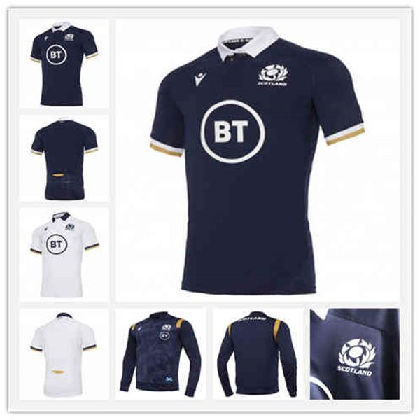 2021 Scotland Rugby Jersey Trainingsjacke Größe S-M-L-XL-XXL-3XL-4XL-5XL