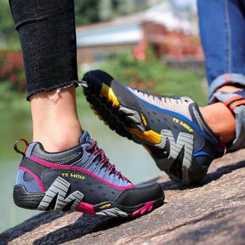 2021 zapatos casuales de cuero para hombre zapatos al aire libre zapatos de montaña zapatillas de deporte impermeable zapatillas para hombres de alta calidad