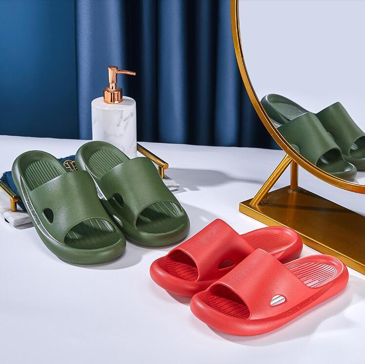 Kadın Sandalet Chaussures Beyaz Siyah Sarı Kırmızı Slaytlar Terlik Bayan Yumuşak Rahat Ev Otel Plaj Terlik Ayakkabı Boyutu 35-40 15