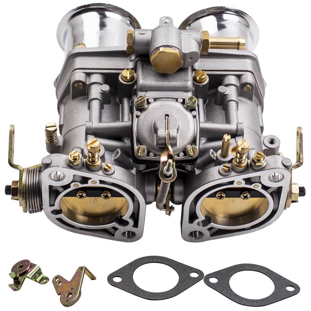 Performance 44mm Carburatore 44 IDF con corno d'aria adatto per Volkswagen Beetle per Fiat 18990.030 44-IDF