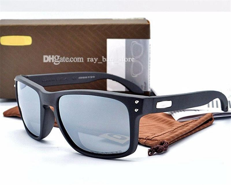MarcaTop Edición Diseñadores de lujos Gafas de sol Hombres TR90 Frame Lente polarizada UV400 Deportes Gafas de sol Evituras de moda Eyewaeste