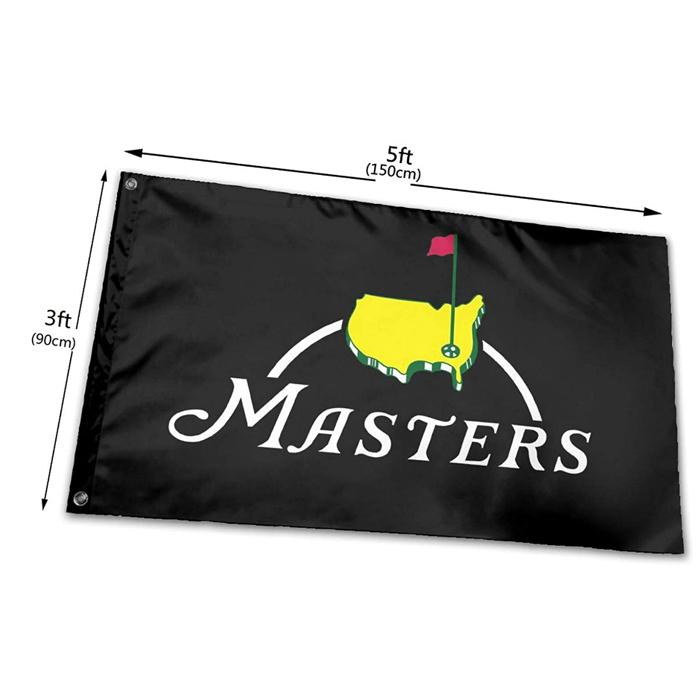Sportmeister Golf-Flaggen Banner 3X5FT 100D Polyester Schnelles Verschiffen lebhafte Farbe mit zwei Messing-Ösen