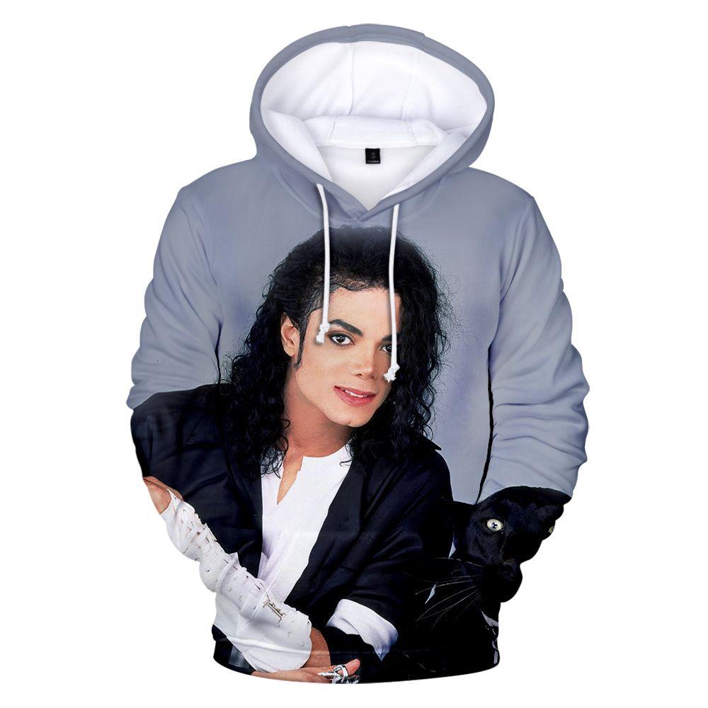 Nouveau Super Star 3D Sweats à Sweats à Sweats à Sweats de Mode / Femmes Sweatshirts Michael Jackson Enfants Trunks Recreation