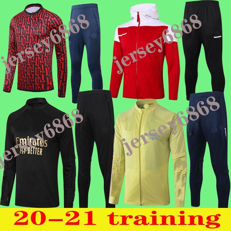 2020 2021 ARS Мужская рубашка Polo Mesut Giroud Длинные с короткими рукавами Сцепления футбол Футбол Джерси Пепе футболки Учебные костюмы Футбольная куртка
