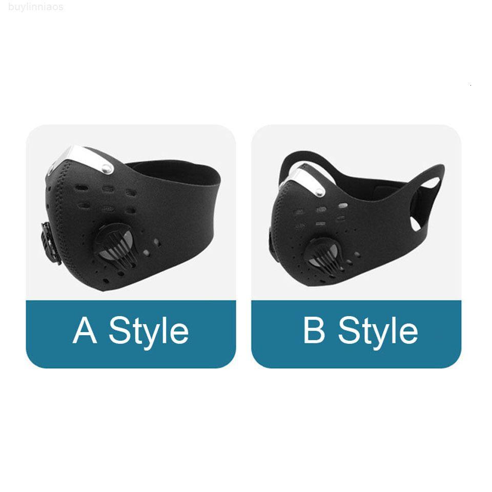 Atmungsaktiv anit-nebel US-Fahrradschutzfilter-Atemschutz-Training Sport JKRIX Anti-Tröpfchen-Staubdichte Staubmaske Radfahren Gesicht SQNVH