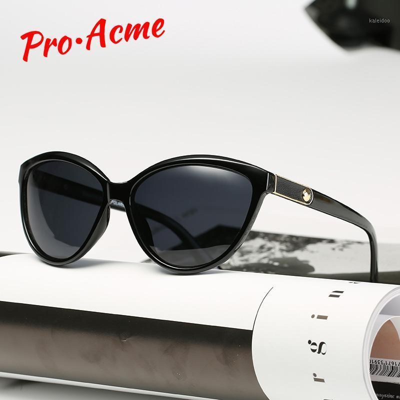 Pro Acme Retro Gatto occhio occhiali da sole donne polarizzate signora elegante occhiali da sole femminile guida occhiali lunette soleil femme pb12231