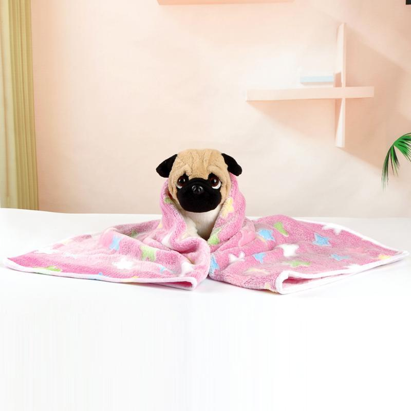 Kedi Yatakları Mobilya 1 ADET Battaniye Pet Mat Rahat Yumuşak ve Sıcak Yastık Uyku Flanel Malzeme Ile Mükemmel Yatak Köpek
