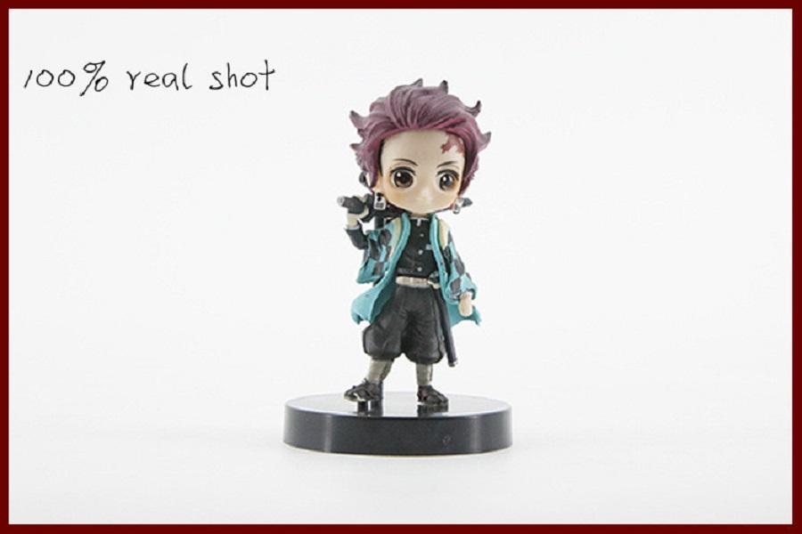 Kimetsu no Yaiba Figure Tanjirou Nezuko Inosuke figurine Anime Demon Slayer Action Figure Demon blade figures Model toys a5