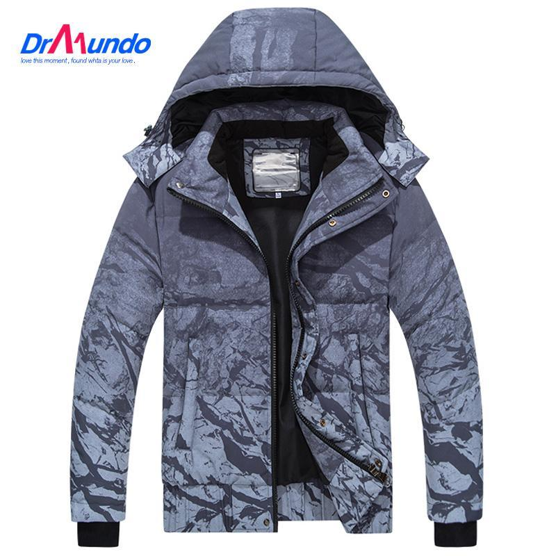 2020 Men's Waterproof Ski Jacket Warm Winter Snow Jacket Women Mountain Ski-wear Oversize Hooded Parka Snowboarding Down Jackets