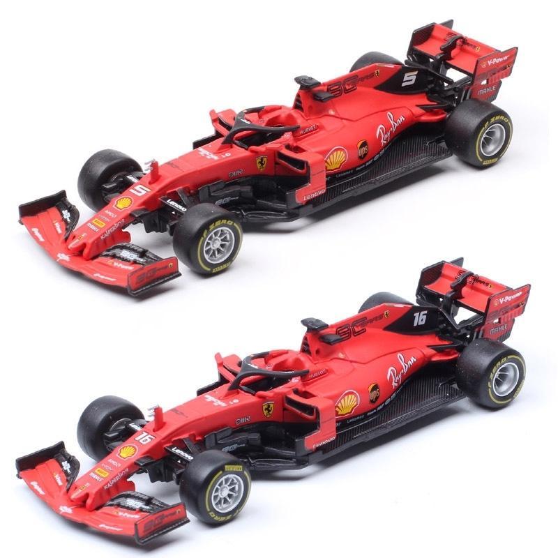 1/43 مقياس BBURAGO SF90 رقم 16 Charles Leclerc No # 5 Sebastian SF71H SF70H RB14 Diecasts لعبة مركبات سباق السيارات نموذج الاطفال Y200109