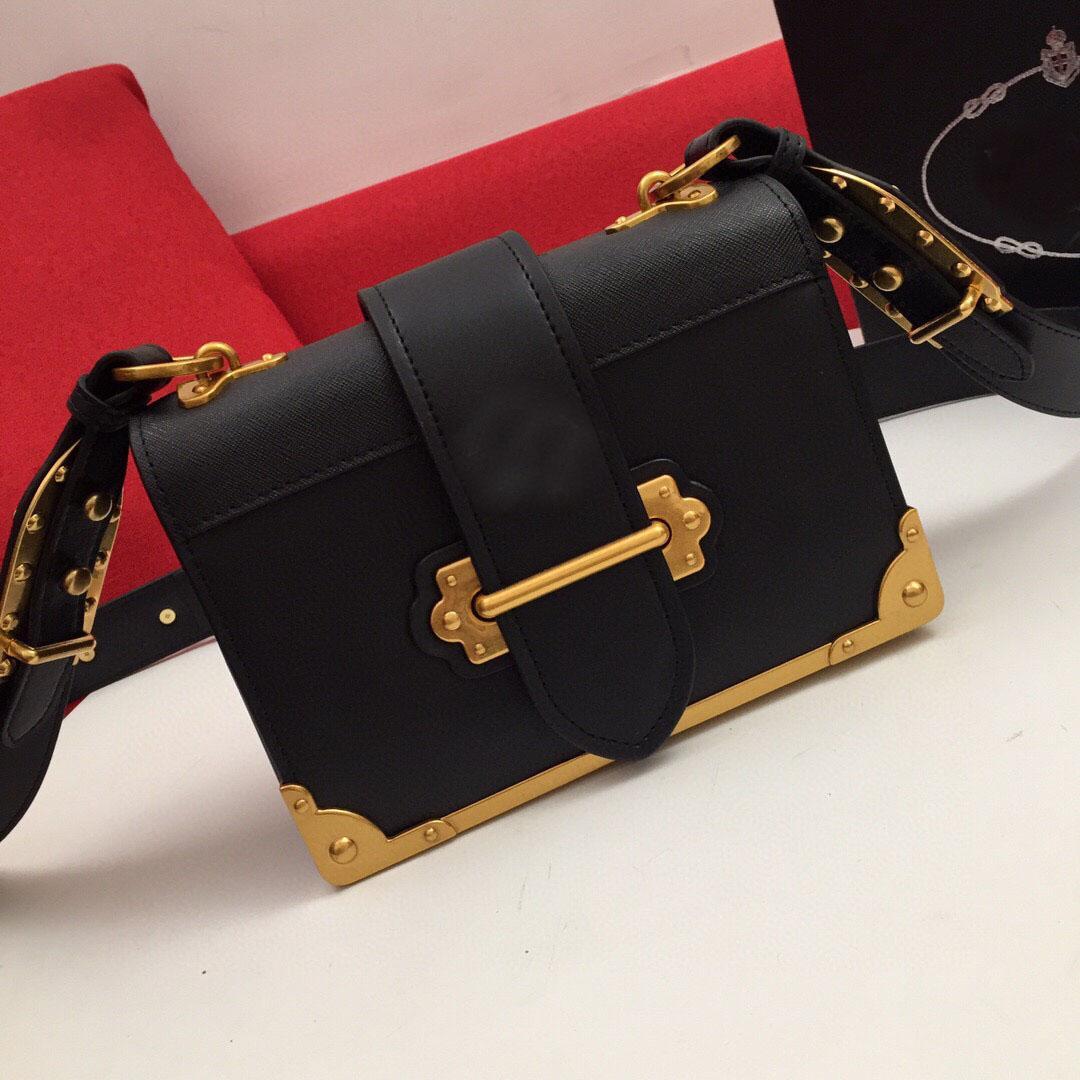 Alta qualidade elegante saco de ombro único com textura generosa costurando saco de ombro feminino e metal decorativo mensageiro bolsa bolsa