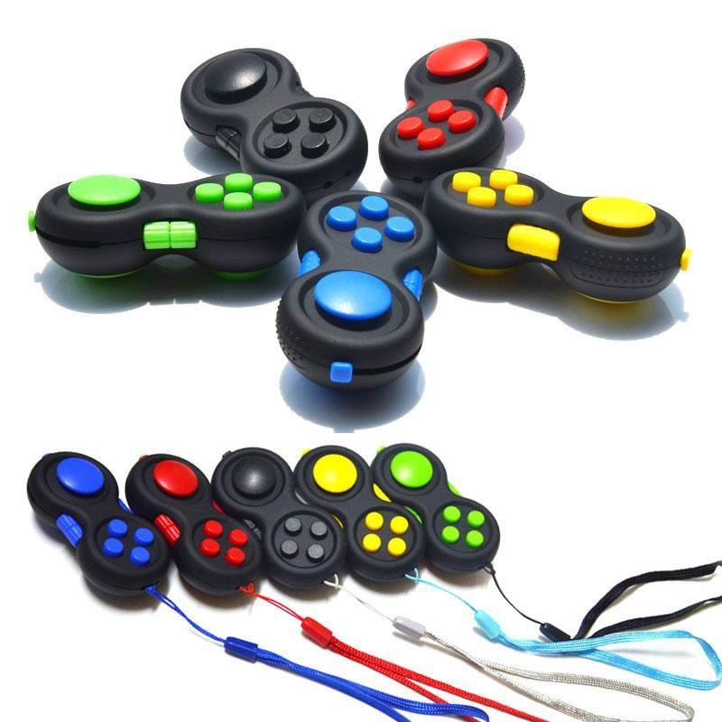 Fidget Pad Controller Sensory Silent Puzzel Game Fidget Speelgoed Set Relief Stress en Angst Depressie voor ADHD Autisme Volwassen Kind